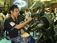 Halo3LaunchInTaiwan Brock MasterChief.jpg