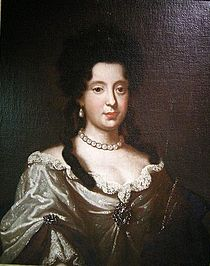 Painting presumed to be Maria Luisa of Savoy, Queen of Spain by an unknown artist.jpg